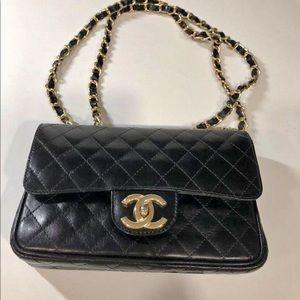 Handbags - Designer inspired mini double flap rectangle